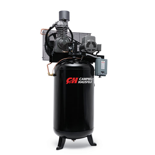 Air Compressor, 80-Gallon Fully Packaged Vertical Two-Stage 25CFM 7.5HP 208-230V 1PH (CE7000FP)