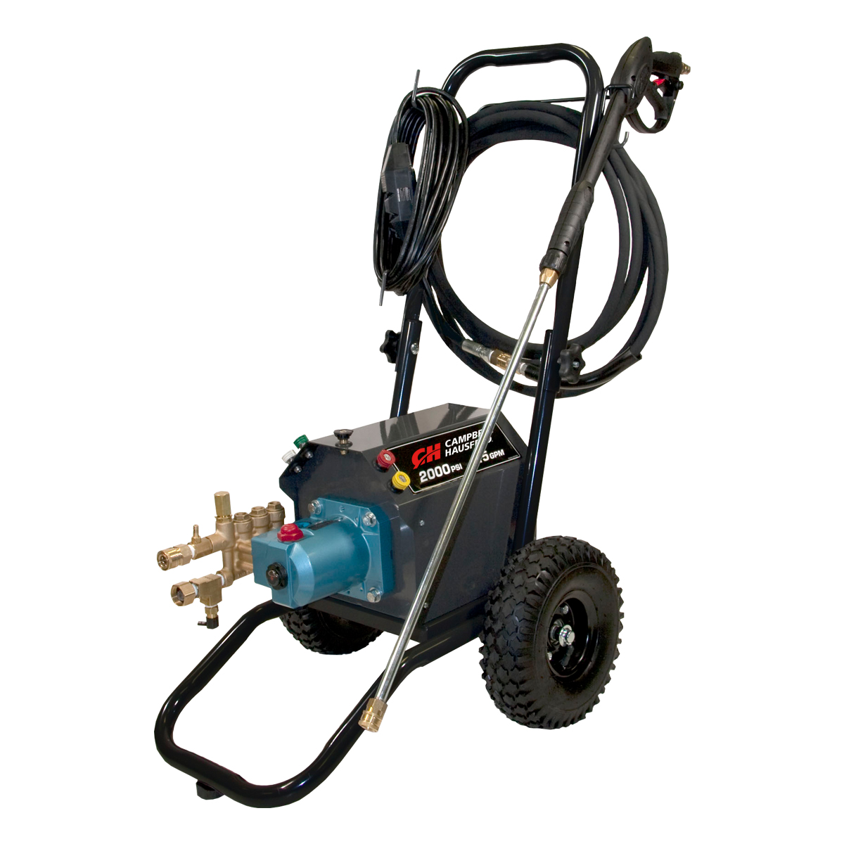 Pressure Washer, 2000 PSI 1.5 GPM Electric Triplex Pump 120V 20A (CP5211)