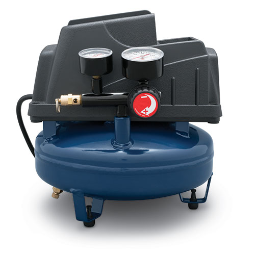 Air Compressor, 1-Gallon Pancake Oilless .36 CFM .33HP 120V 3A (FP2028)