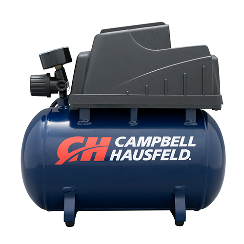 Air Compressor, 2-Gallon Hot Dog Oilless .36 CFM .33HP 120V 3A