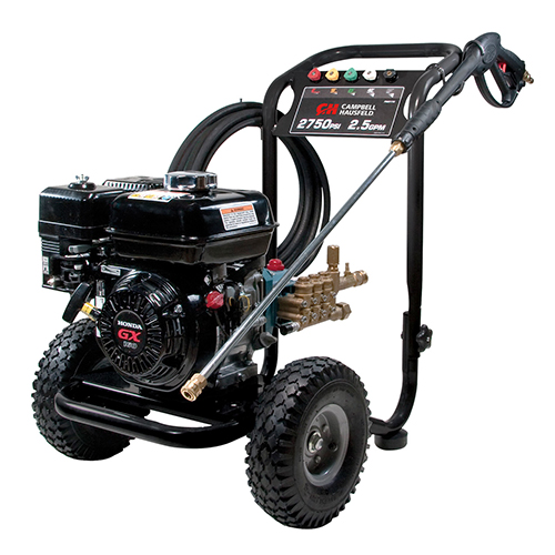 Campbell Hausfeld Pressure Washer, 2750 PSI 2.5GPM Triplex Pump GX160 Honda (PW2770) product image right angle