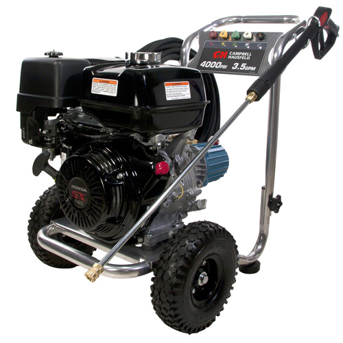 Campbell Hausfeld Pressure Washer, 4000 PSI 3.5GPM Triplex Pump GX390 Honda (PW4070) product image left angle