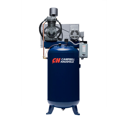 Air Compressor, 80 Gallon Vertical Two Stage 25CFM 7.5HP 208-230V 1PH (TF211201AJ)