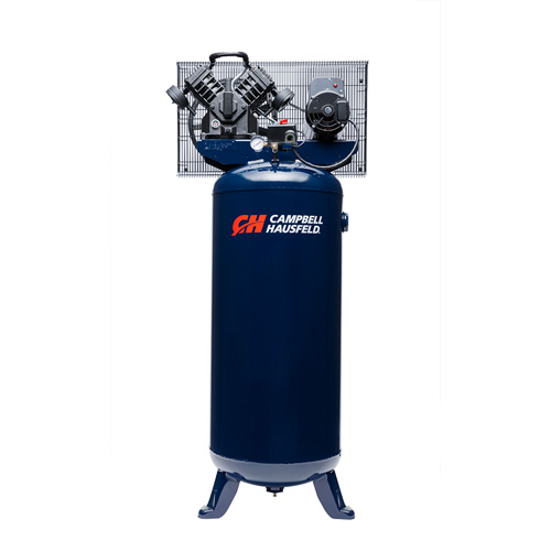 Air Compressor, 60-Gallon Vertical Single-Stage 16CFM 5HP 208-230V 1PH (TQ3101)