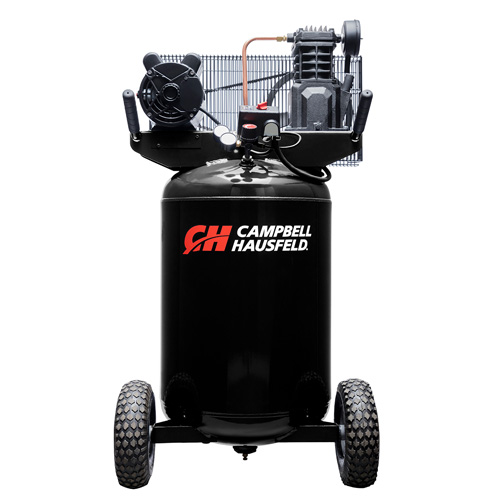 Air Compressor, 30-Gallon Vertical Portable Single-Stage 5.5CFM 2HP 120/240V 1PH (VT6367)