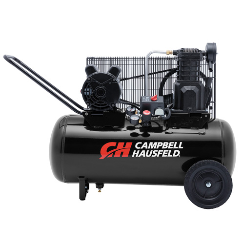 Air Compressor, 15-Gallon Horizontal Portable Single-Stage 5.5CFM 2HP 120/240V 1PH (VX4002)