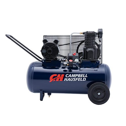 Air Compressor, 15-Gallon Horizontal Portable Single-Stage 5.5CFM 2HP 120/240V 1PH (VX4011)
