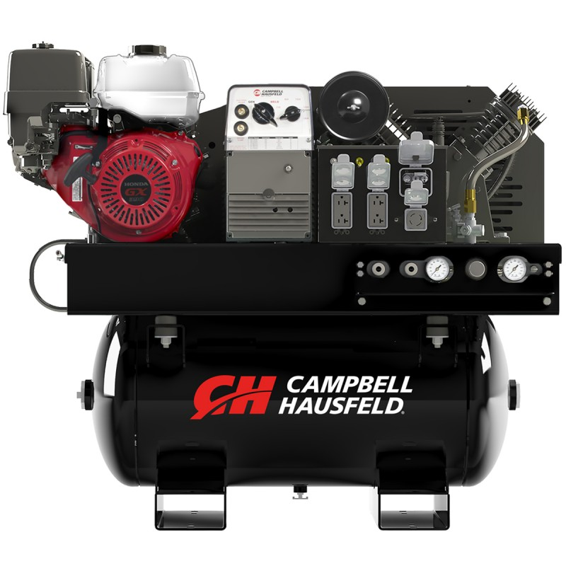 Campbell Hausfeld Combination Unit, 30-Gallon 14CFM Compressor 5000W Generator 180A Welder GX390 Honda (GR3200) product image center